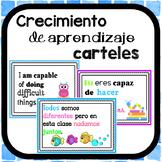 Crecimiento de aprendizaje carteles