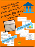 Credential Program: Science Methods  Next Generation Science Standards WebQuest