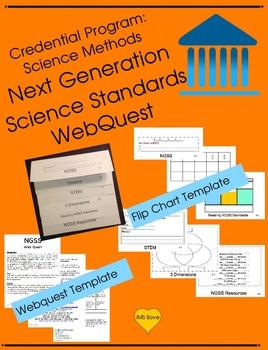 Credential Program: Science Methods  Next Generation Science Standards WebQuest