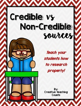 Credible vs Non-Credible Sources for safe research