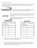 Credit Card Analysis with Exponential Functions