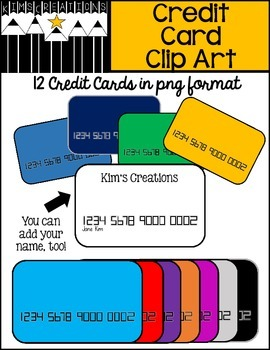 Credit Card Clip Art