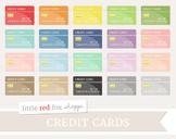 Credit Card Clipart; Money, Bank, Cash