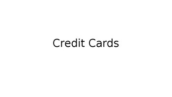 Credit Card Power Point