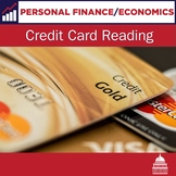Credit Card Reading Passage | Personal Finance