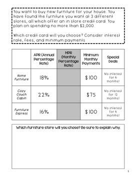 Credit Card Simulation