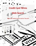 Credit Card Terms Web Search
