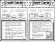 Credit Card Versus Debit Card Math Notebook Page Financial Literacy TEKS 6.14b
