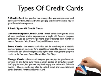 Credit Cards PowerPoint