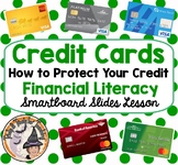 Credit Cards and How to Protect Your Credit Financial Literacy Money Smartboard