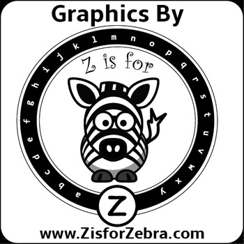 Credit Image for using ZisforZebra Products