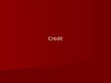 Credit PowerPoint Presentation
