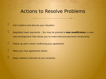 Credit Problems and Laws PowerPoint