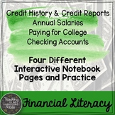 Credit Reports, Checking Accounts, Paying for College, Sal