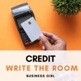 Credit Terminology and Credit Scores QR Code Scavenger Hunt