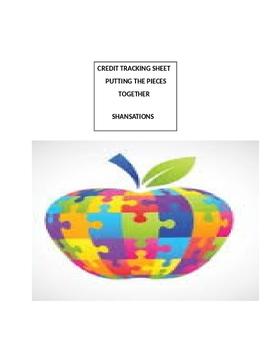 Credit Tracking Sheet