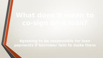 Credit Unit Review PowerPoint