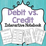 Credit vs. Debit Interactive Notebook