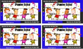Credito Extra, Puntos Extra