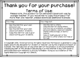 Credits and Terms of Use