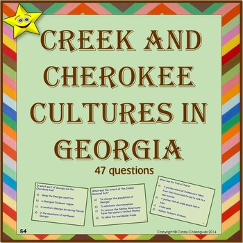 Native Americans - Creek and Cherokee Cultures in Georgia