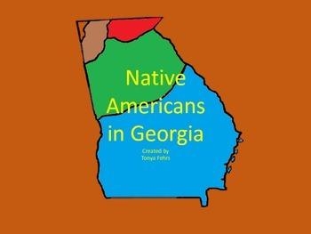 Creek and Cherokee Indians
