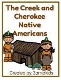 Creek and Cherokee Native Americans