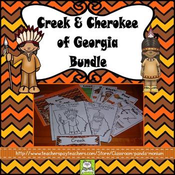 Creek and Cherokee Bundle