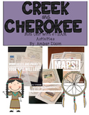 Creek and Cherokee Social Studies Unit
