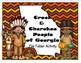 Creek and Cherokee of Georgia File Folder Activity