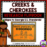 Creeks and Cherokees:  Native Americans of Georgia Flipbook
