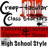 Creep-tacular Daily Starters High School Style!