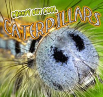 Creepy But Cool Caterpillars flip e-book