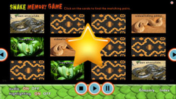 Creepy But Cool Snake science INTERACTIVE VERSION!