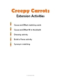 Creepy Carrots Activities