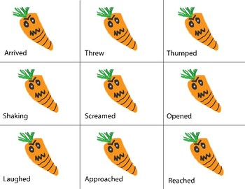 Creepy Carrots Comprehension Packet