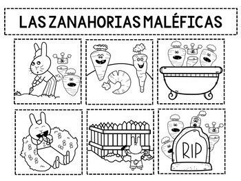 Creepy Carrots Craftivity/ Las Zanahorias Maleficas