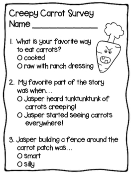 Creepy Carrots Glyph