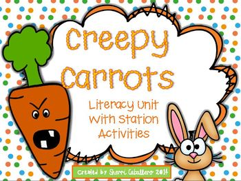 Creepy Carrots Literacy Activities and Stations