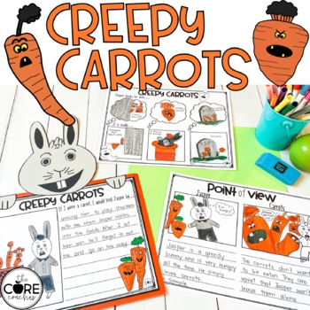 Creepy Carrots Read-Aloud Activity