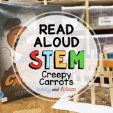 Creepy Carrots Halloween READ ALOUD STEM Activity with Digital Distance Learning