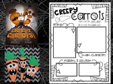 Creepy Carrots Reading Activity and Craft