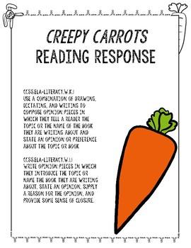 93b1f1c1baae Creepy Carrots Reading Response Creepy Carrots Reading Response
