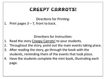 Creepy Carrots! Sequencing