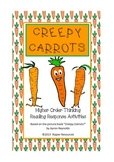 "Halloween: ""Creepy Carrots"" - vocabulary extension & creepy vegie writing"