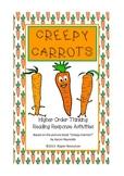 "Halloween: ""Creepy Carrots"" - vocabulary extension & creepy vegie writing"