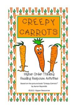 Halloween: Creepy Carrots - vocabulary extension and creep