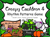 Creepy Cauldron 4 - {Sixteenth Notes}