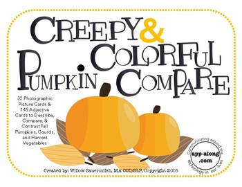 Creepy & Colorful Pumpkin Compare