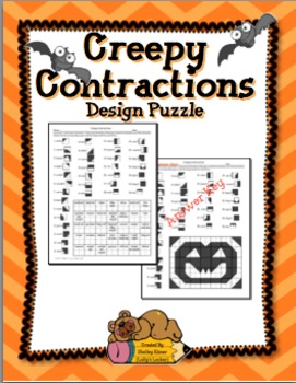 Creepy Contractions Design Puzzle@paradise